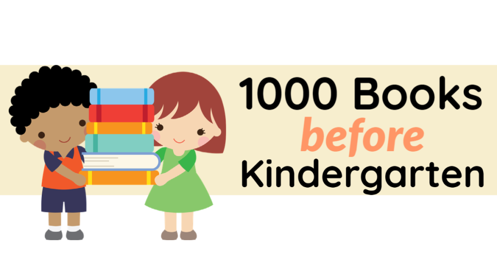 Click here to visit Beanstack and join the 1000 Books Before Kindergarten Challenge.
